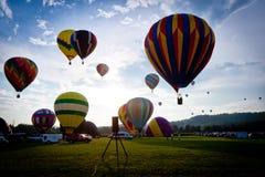 Gorący Balonowy festiwal Obraz Stock