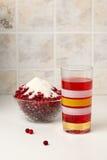 gorący brusznicowy napój Fotografia Stock