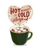 Gorący cacao Zdjęcia Stock