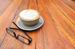 Gorący cappuccino Obrazy Stock