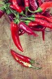 Gorący chili pieprze Zdjęcia Royalty Free