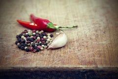 Gorący chili pieprze Obraz Stock