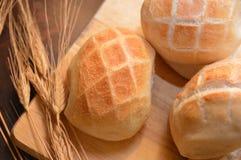 Gorący chlebowy brown piekarni jedzenie Zdjęcie Stock