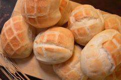 Gorący chlebowy brown piekarni jedzenie Obraz Stock