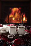 gorący czekoladowi napoje Zdjęcie Stock