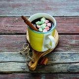 gorący czekoladowy napój Fotografia Stock