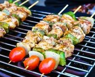 gorący grillów kije Fotografia Stock
