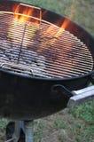 gorący kettle grilla Fotografia Royalty Free