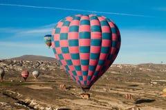gorący latanie balonem lotniczy wydarzenie Fotografia Stock