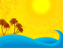 gorący lato Obraz Stock