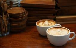 Gorący latte Zdjęcia Royalty Free
