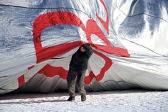 gorący lotniczy ballon Fotografia Stock