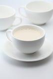 Gorący mleko Zdjęcie Stock