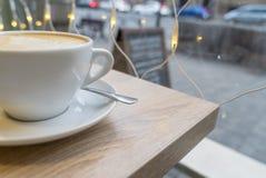 Gorący napoju coffe latte Obraz Stock