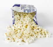gorący pop corn Fotografia Royalty Free