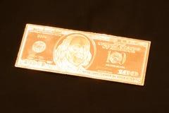 Gorący srebro 100 Zdjęcie Stock