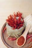 gorący susi chili pieprze Zdjęcia Royalty Free