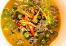 Gorący Tajlandzki curry Fotografia Stock