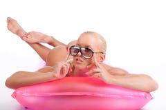gorący wzorcowy seksowny Obrazy Royalty Free