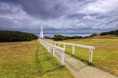 GOR Lighthouse Way Fotografie Stock Libere da Diritti