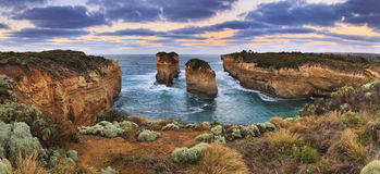 GOR Loch Ard Gorge 2 Rocks Royalty Free Stock Image