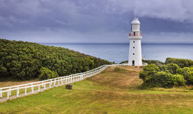 GOR Otway Lighthouse Hor panorama Royalty Free Stock Photos