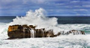 GOR Rock Wave Splash imagenes de archivo