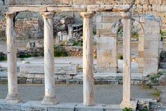 Ágora antiguo de Atenas Imagenes de archivo