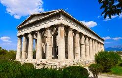 Ágora antiguo en Atenas, Grecia Foto de archivo libre de regalías