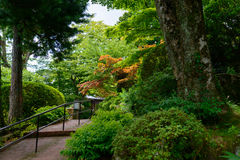 Gora Park in Hakone, Kanagawa, Japan Stock Photography
