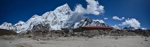 Gorak Shep - Everest base camp trail Stock Photo