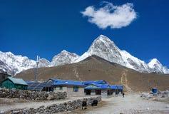 Gorak Shep village and Kala Patthar , Nepal Stock Images