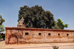 Gorakh Nath Temple en el sitio histórico de Gor Khuttree, parque Peshawar, Paquistán de Tehsil Imagen de archivo