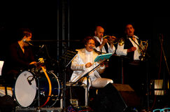 Goran Bregovic and his Wedding and Funeral Band Stock Photography