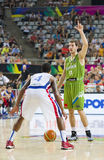 Goran Dragic of Slovenia Royalty Free Stock Photos