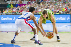 Goran Dragic of Slovenia Stock Photography