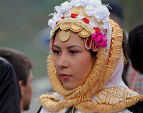 Gorani bride, Kosovo Royalty Free Stock Photos