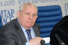 gorbachev mikhail Arkivbilder