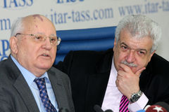 gorbachev mikhail Fotografia Royalty Free