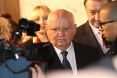 gorbachev mikhailpresident Arkivbilder