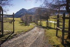 Gorbea natural park. In Vizcaya, Basque Country stock photo