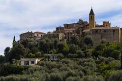 Gorbio village Royalty Free Stock Photo