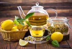 gorąca chamomile herbata Zdjęcia Royalty Free
