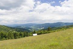 Gorce山 库存照片