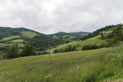 Gorce berg Arkivbilder