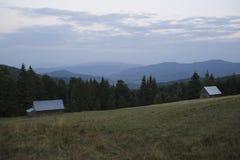 Gorce berg Royaltyfri Foto