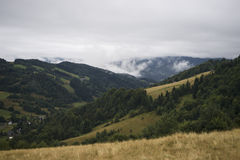Gorce berg Arkivbild