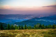 Gorce berg Fotografering för Bildbyråer