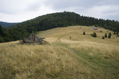 Gorce góry Zdjęcia Royalty Free