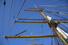 Gorch Fock Sailboat Stock Photo